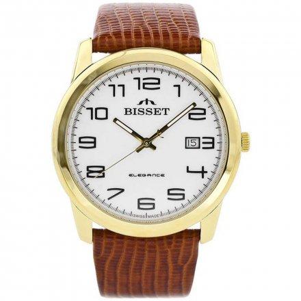 Zegarek Męski na pasku Bisset  BSCC98GAWX03BX