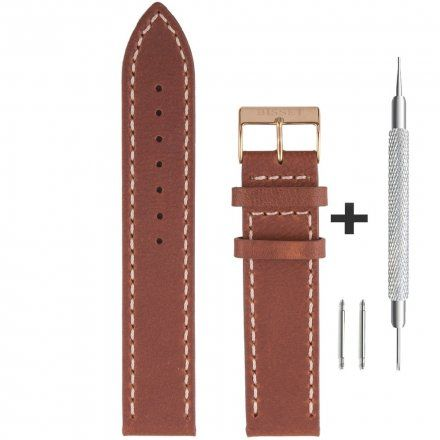 Bisset Pasek skórzany do zegarka BISSET BS-109-20mm uniwersalny