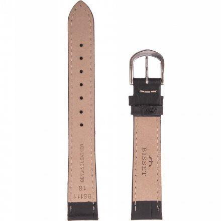 Bisset Pasek skórzany do zegarka BISSET BS-111-16mm uniwersalny
