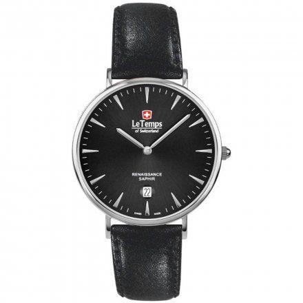 Le Temps LT1018.07BL01 Zegarek Szwajcarski męski