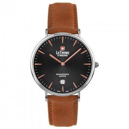 Le Temps LT1018.47BL02 Zegarek Szwajcarski męski