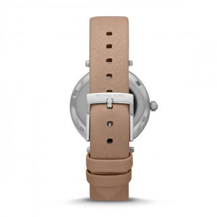 MK2913 Zegarek Damski Michael Kors Parker z beżowym paskiem