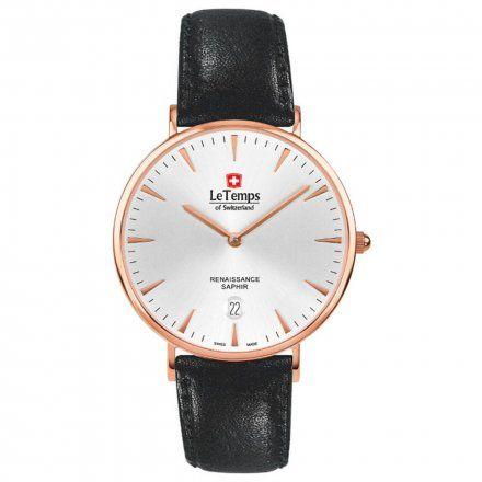Le Temps LT1018.56BL51 Zegarek Szwajcarski męski