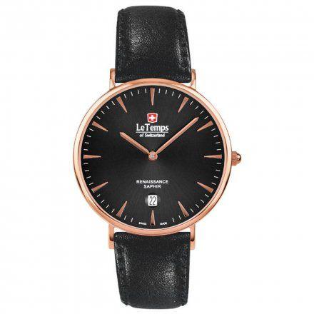 Le Temps LT1018.57BL51 Zegarek Szwajcarski męski