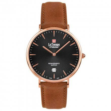 Le Temps LT1018.57BL52 Zegarek Szwajcarski męski