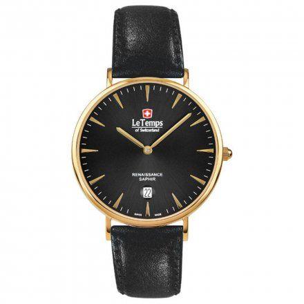 Le Temps LT1018.87BL61 Zegarek Szwajcarski męski