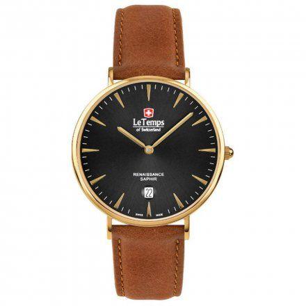 Le Temps LT1018.87BL62 Zegarek Szwajcarski męski