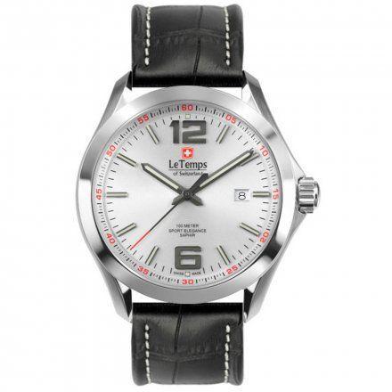 Le Temps LT1040.07BL01 Zegarek Szwajcarski męski