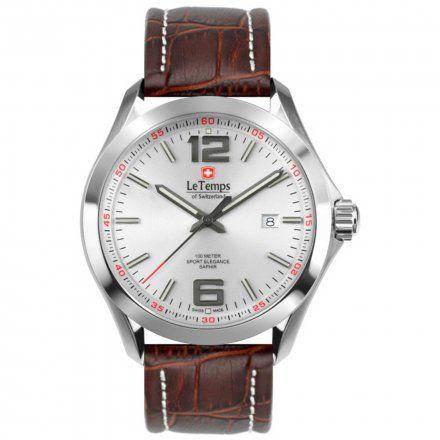 Le Temps LT1040.07BL02 Zegarek Szwajcarski męski