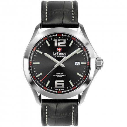 Le Temps LT1040.08BL01 Zegarek Szwajcarski męski