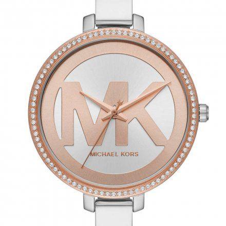 MK4546 Zegarek Damski Michael Kors srebrno-różowozłoty Jaryn