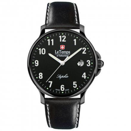 Le Temps LT1067.27BL21 Zegarek Szwajcarski męski