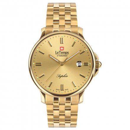 Le Temps LT1067.56BD01 Zegarek Szwajcarski męski