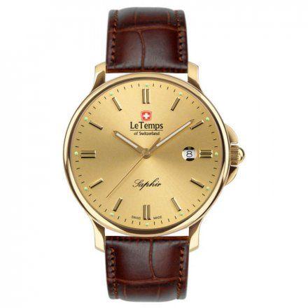 Le Temps LT1067.56BL62 Zegarek Szwajcarski męski