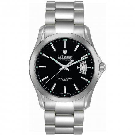 Le Temps LT1080.12BS01 Zegarek Szwajcarski męski