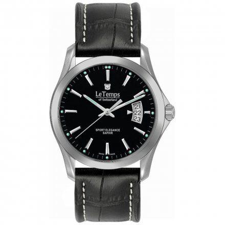 Le Temps LT1080.12BL01 Zegarek Szwajcarski męski