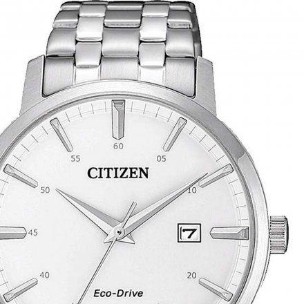 Citizen BM7460-88H Zegarek Męski na bransolecie Eco Drive Elegance