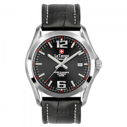 Le Temps LT1090.08BL01 Zegarek Szwajcarski męski