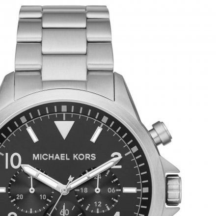 MK8826 Zegarek Męski Michael Kors Gage srebrny