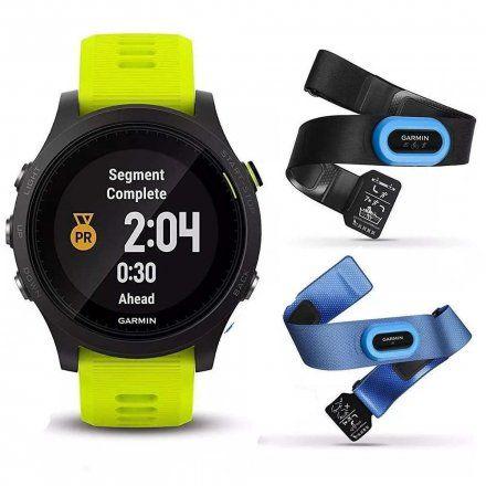 GARMIN Forerunner 935 zegarek do biegania 010-01746-06 z czujnikami HRM TRI i HRM Swim