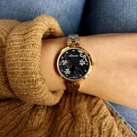 Zegarek Damski Adriatica na bransolecie  A3741.114MQ - Zegarek Kwarcowy Swiss Made