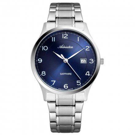 Zegarek Męski Adriatica na bransolecie  A8305.5125Q - Zegarek Kwarcowy Swiss Made