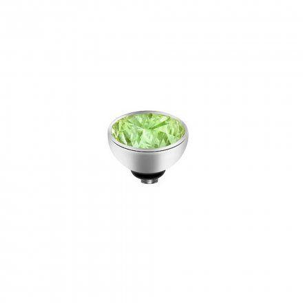 Element wymienny Meddy Melano Twisted M01SR Okrągły Srebrny Aqua Green