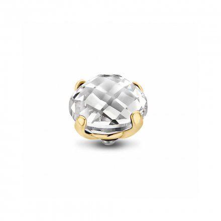 Element wymienny Meddy Melano Twisted TM52 Ufo fasetowane Złoty Crystal