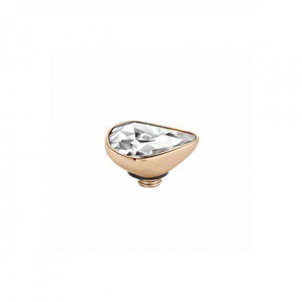 Element wymienny Meddy Melano Twisted TM43 Drop Mini Różowe złoto Crystal