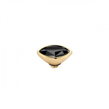 Element wymienny Meddy Melano Twisted TM46 Marquise Mini Złoty Jet Black