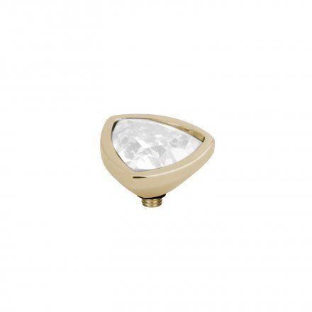 Element wymienny Meddy Melano Twisted M01SR Trójkąt Złoty White