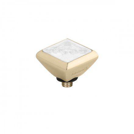Element wymienny Meddy Melano Twisted M01SR Kwadrat Złoty White