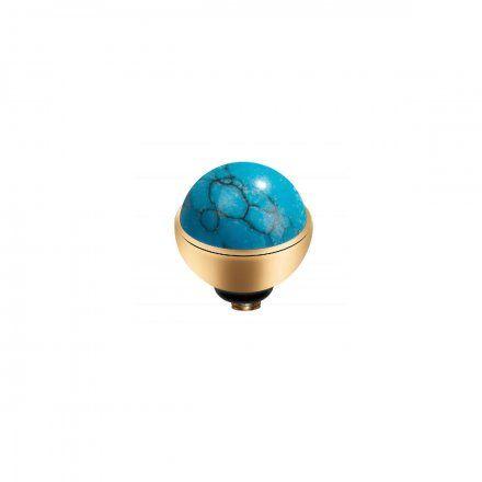 Element wymienny Meddy Melano Twisted M01SR Kamień Złoty Turquoise