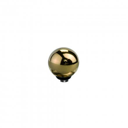 Element wymienny Meddy Melano Twisted M01SR Stal Złoty Kulka