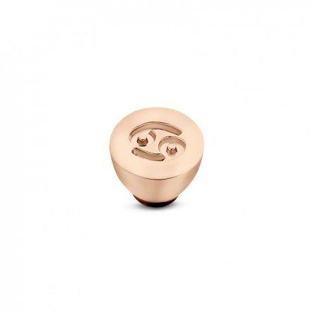 Element wymienny Meddy Melano Twisted TM50 Stal Różowe złoto Znak Zodiaku Rak