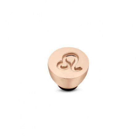 Element wymienny Meddy Melano Twisted TM50 Stal Różowe złoto Znak Zodiaku Lew