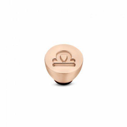 Element wymienny Meddy Melano Twisted TM50 Stal Różowe złoto Znak Zodiaku Waga