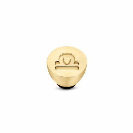 Element wymienny Meddy Melano Twisted TM50 Stal Złoty Znak Zodiaku Waga