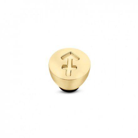 Element wymienny Meddy Melano Twisted TM50 Stal Złoty Znak Zodiaku Strzelec