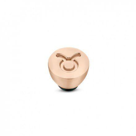 Element wymienny Meddy Melano Twisted TM50 Stal Różowe złoto Znak Zodiaku Byk