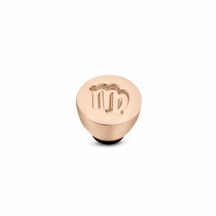 Element wymienny Meddy Melano Twisted TM50 Stal Różowe złoto Znak Zodiaku Panna