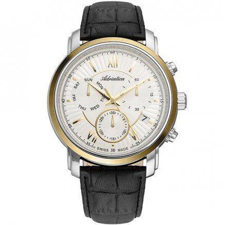Zegarek Męski Adriatica na Pasku A8193.2263CH - Chronograf Swiss Made