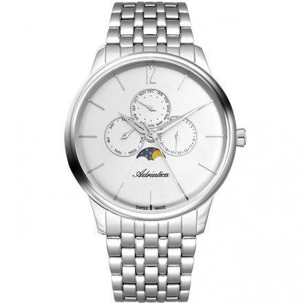 Zegarek Męski Adriatica na bransolecie A8269.5153QF - Multifunction Swiss Made