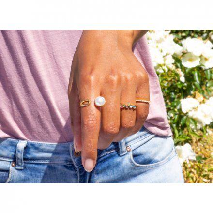 Element wymienny Meddy Melano Twisted TM54 Perła Okrągły Różowe złoto