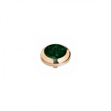 Element wymienny Meddy Melano Vivid M01SR Okrągły Złoty Emerald Green