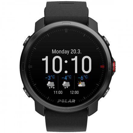 Polar GRIT X Czarny zegarek sportowy z GPS i pulsometrem