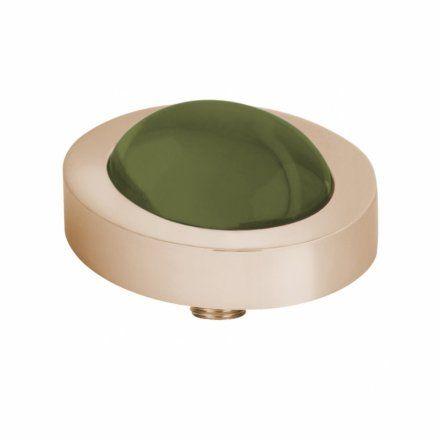Element wymienny Meddy Melano Vivid M01SR Owalny Różowe złoto Olive
