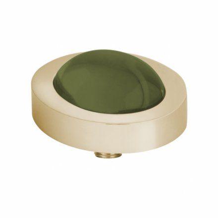 Element wymienny Meddy Melano Vivid M01SR Owalny Złoty Olive