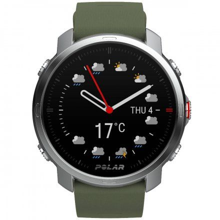 Polar GRIT X Zielony zegarek sportowy z GPS i pulsometrem M/L