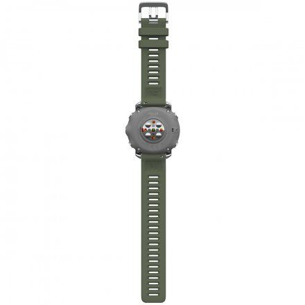 Polar GRIT X Zielony zegarek sportowy z GPS i pulsometrem